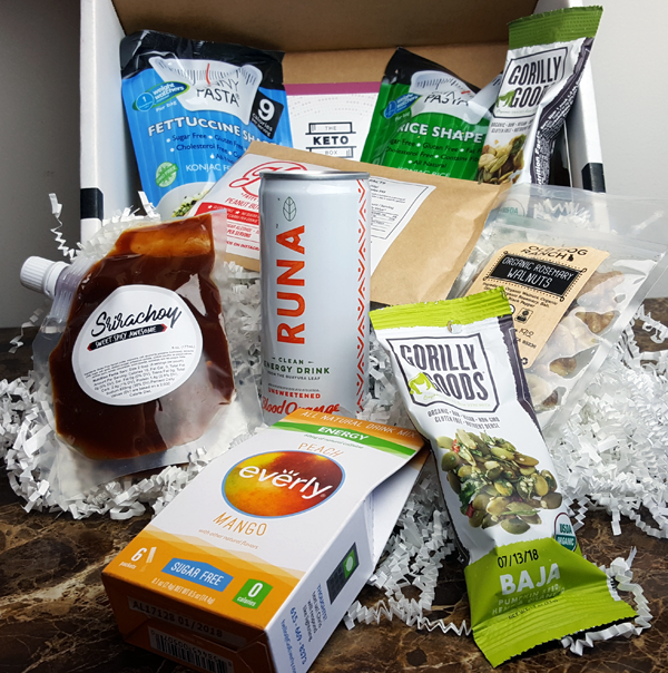 The Keto Box Review (9 Low Carb Foods) September 2017