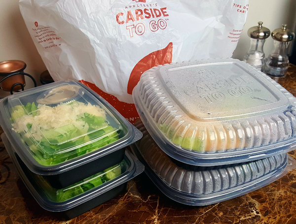 Applebee's Low Carb Take-Out