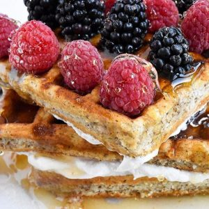 Gluten Free, Low Carb, Keto Friendly Waffles from KNOW Foods