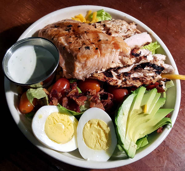 LCHF Cobb Salad - Low Carb Dinner at Tupelo Honey Cafe