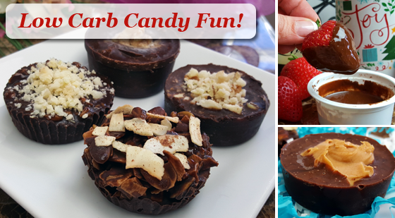 Low Carb Candy Recipes & Ideas