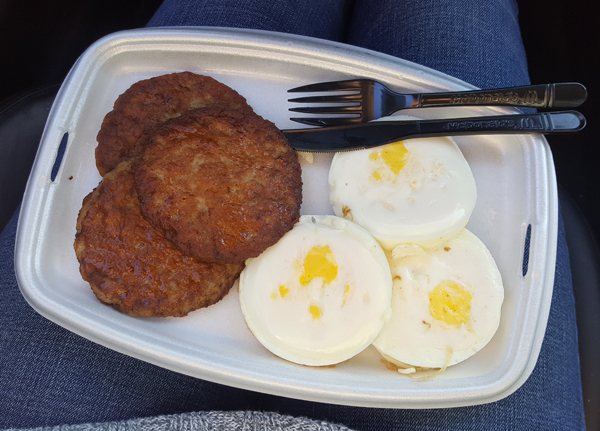 Eating Low Carb on the Road - Fast Food via McDonald's All Day Breakfast