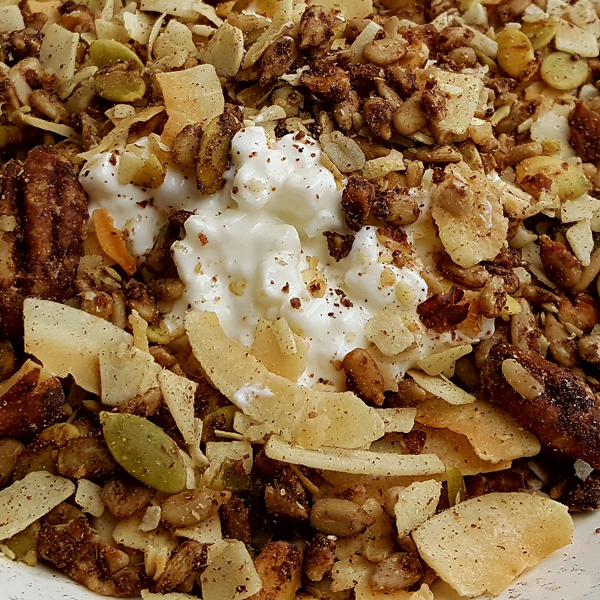 Gluten Free, Low Carb, Paleo Cereal