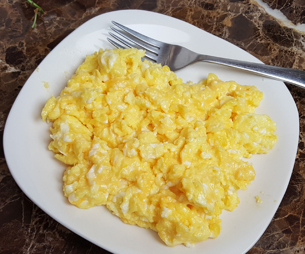 Keto Eggs - Scrambled in Real Butter with Real Cheese