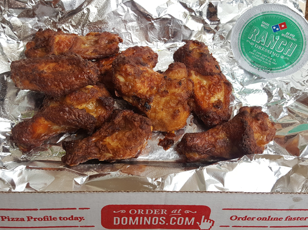 Naked Wings - Low Carb Delivery from Domoni's Pizza