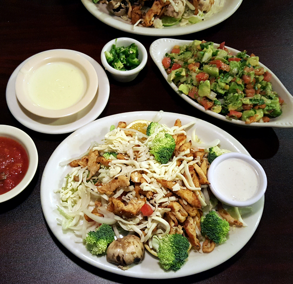 Low Carb Mexican Restaurant Options