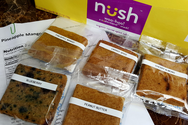 New Flavors Coming January 2018 - NUSH Foods Organic, Gluten Free Low Carb Cakes