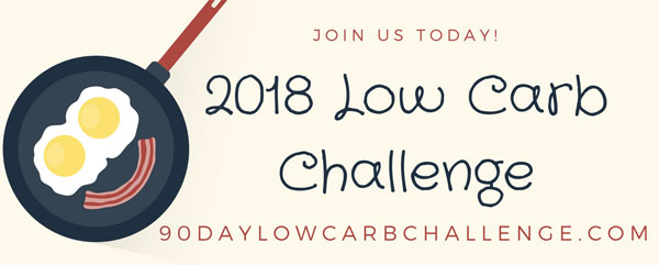 2018 New Year Low Carb Challenge