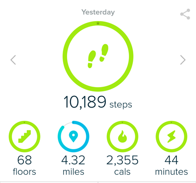 Using Fitbit for Exercise Goals and Fitness Motivation