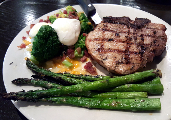 Low Carb Meal at O'Charley's Restaurant