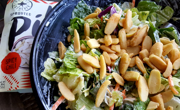 Low Carb Salad with Pili Nuts