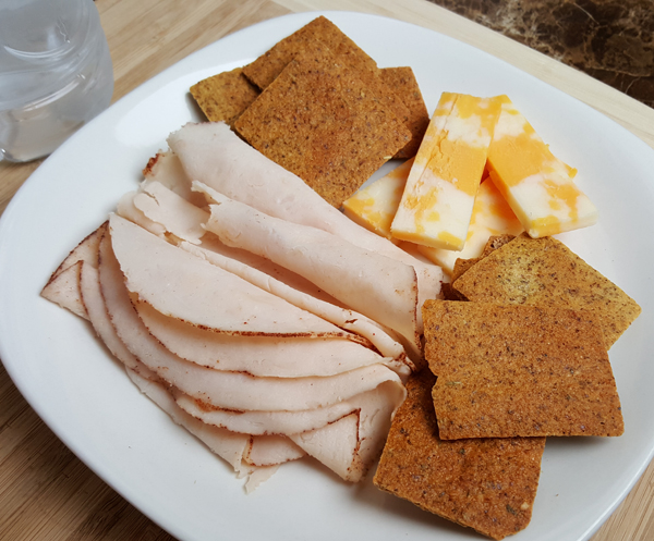 Low Carb Snack Plate