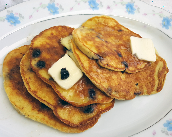Low Carb Protein Powder Pancakes