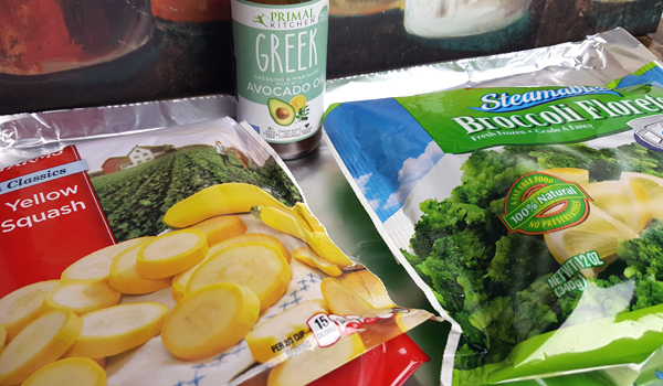 Frozen Low Carb Vegetables - Getting Creative with LCHF Meals!