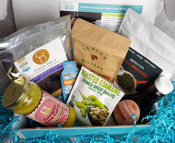 January Keto Delivered Box