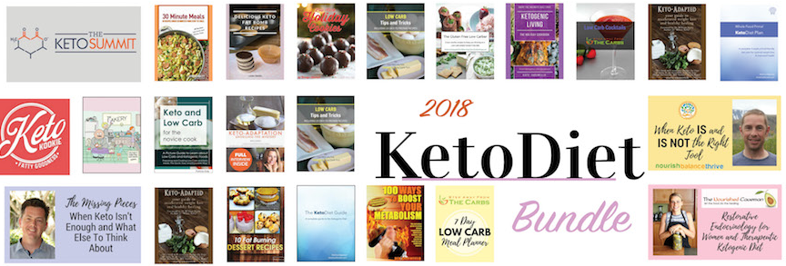 Keto Diet Bundle with 14 Weeks of Low Carb Meal Plans