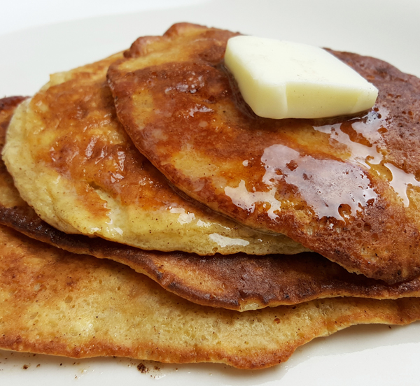 Keto Pancakes with LCHF Collagen Protein Low Carb Shake Mix