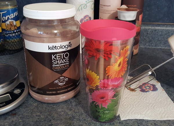 Keto Shake with LCHF Collagen Protein Powder