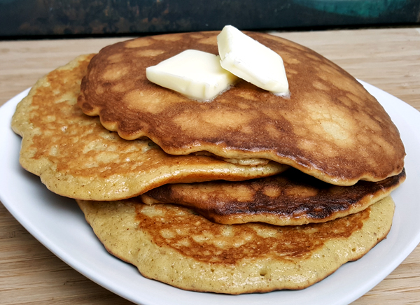 Low Carb Apple Pie Pancakes - Recipe