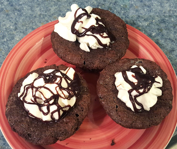 Low Carb Cupcakes Experiment