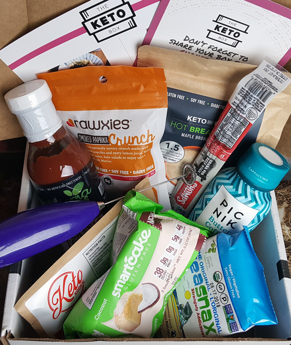 The Keto Box Review - January Low Carb Foods