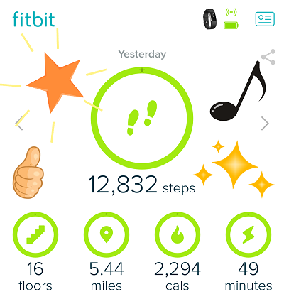 Finding Exercise Motivation with Fitbit Goals!