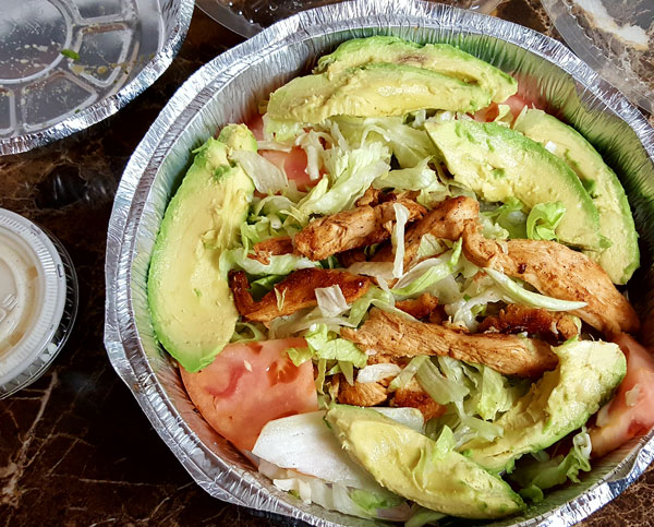 Keto Mexican Restaurant Meal - Low Carb Take Out Ideas