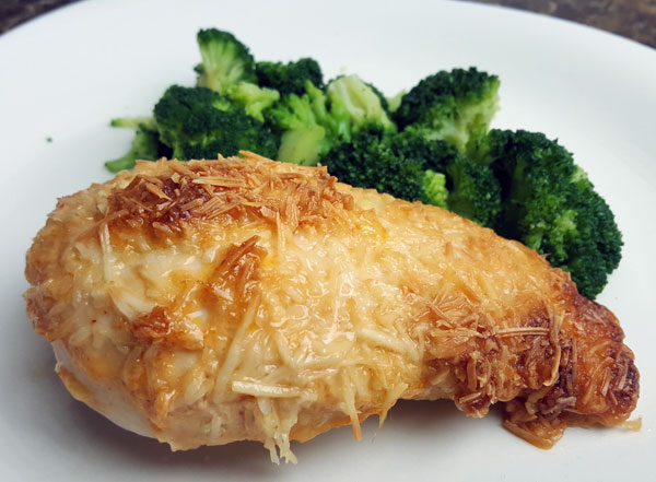 Low Carb Parmesan Chicken - Keto Meals