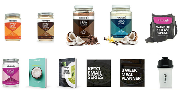 Ketologie Products - Review of the 21 Day Keto Kick Start Program