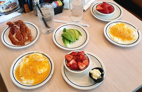 IHOP Low Carb Meals - Keto on the Go!