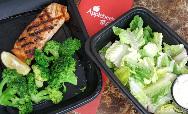 Keto Take-Out from Applebee's - Low Carb Meal Ideas