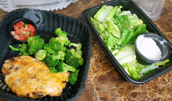 Keto Take-Out from Applebee's - Easy Low Carb Dinner