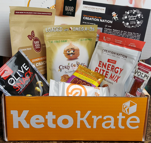 March 2018 Keto Krate Review