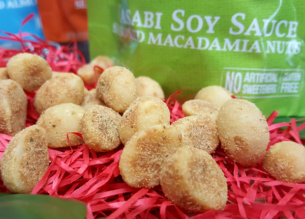Wasabi Soy Macadamia Nuts by Legendary Foods - Tasty LCHF Keto Snacks!