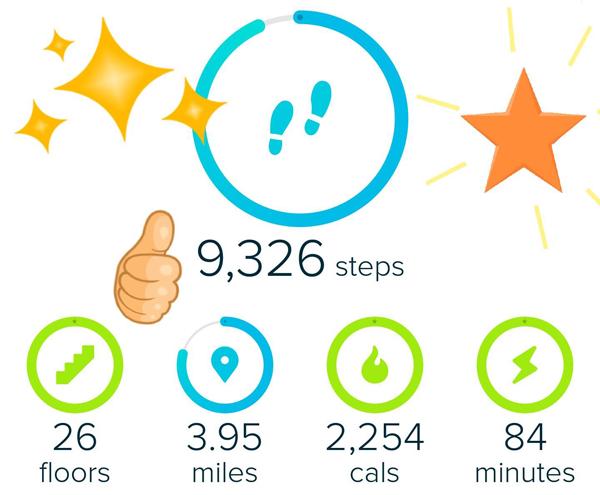 Fitbit Fitness Hiking