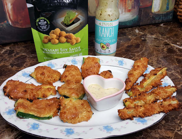 Macadamia Crusted Zucchini Fries Recipe - Fail LOL