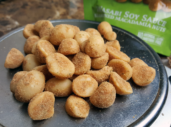 Wasabi Macadamia Nuts Recipe Idea