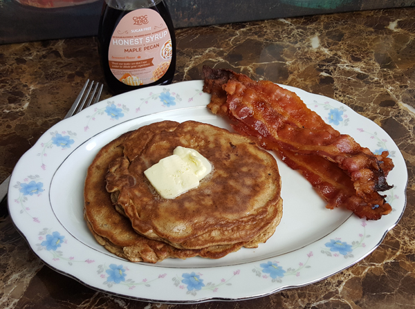 Keto Pancake Breakfast - Low Carb Life