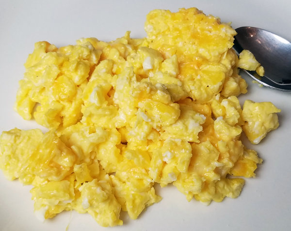 Eggs With a Spoon
