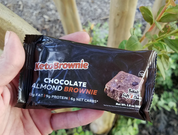 Individual Keto Brownies - Low Carb Chocolate Almond Brownie