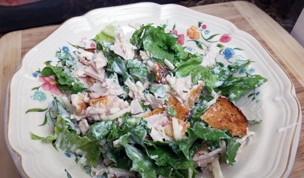 LCHF Salad - Easy Keto Dinner