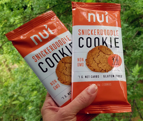 The new NUI Keto Kookie - Low Carb Gluten Free Snickerdoodle