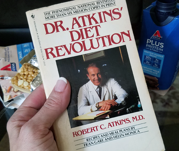 First Atkins Book by Dr. Atkins in 1972
