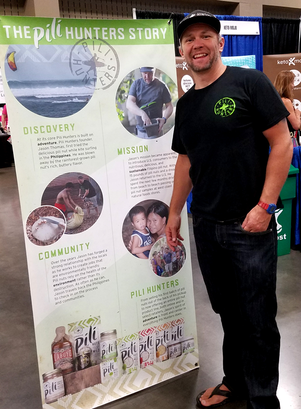 KetoCon - Jason Thomas of Pili Hunters, famous wild-havested Pili Nuts
