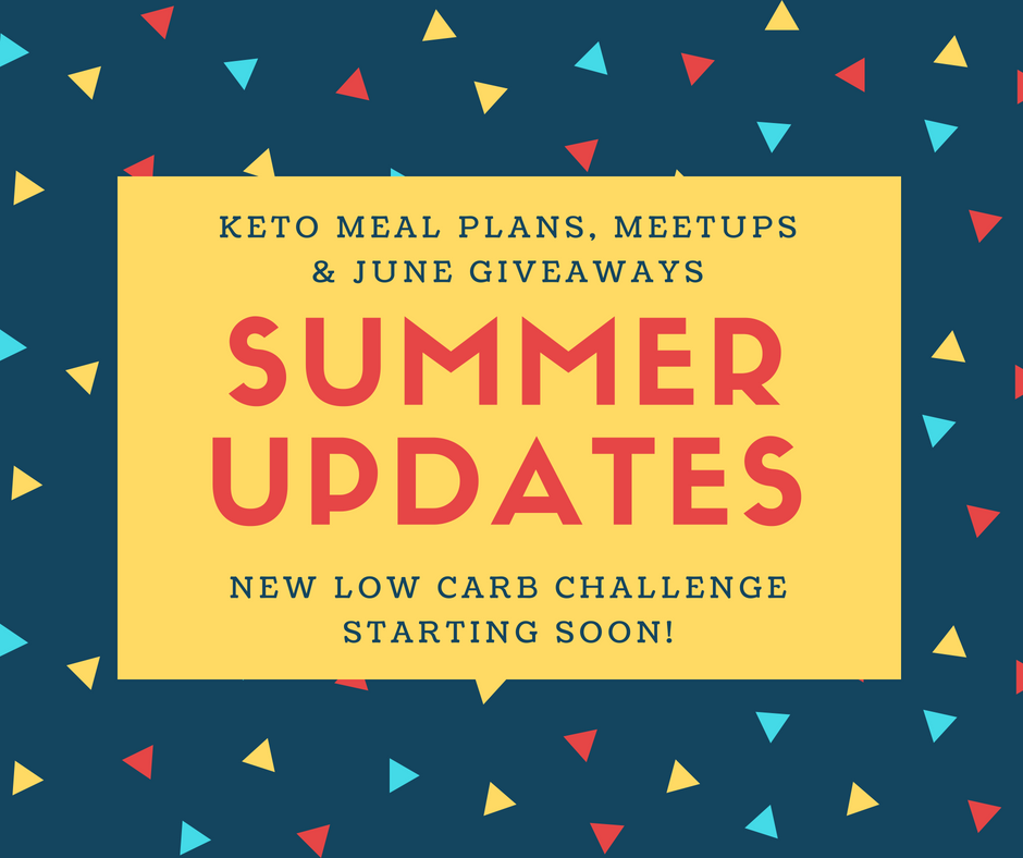Low Carb News - Summer 2018