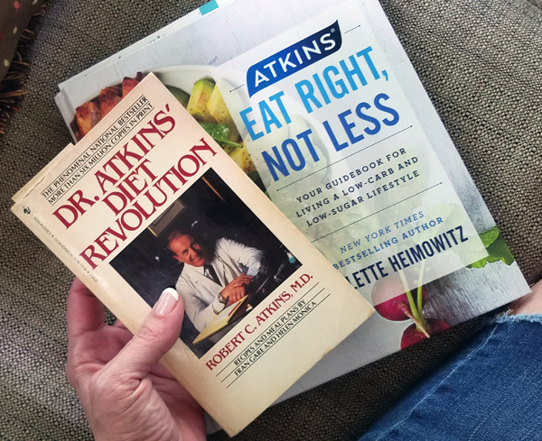 45 Years of Low Carb: the Original Atkins Book and Newest Atkins Book