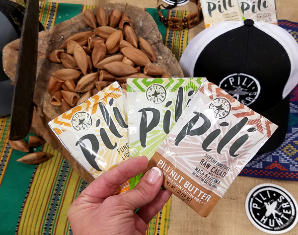 Pili Nut Butter Packets