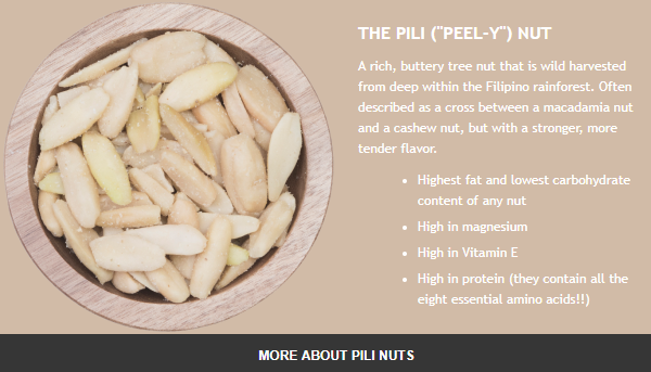 Wild-Harvested Sprouted Pili Nuts from Pili Hunters