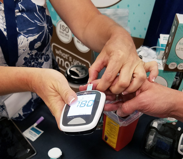 Blood Glucose and Ketone Testing Meter for the Keto Lifestyle