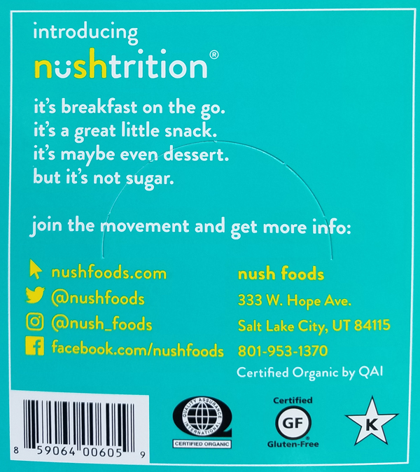 Nush Foods Review - NushFoods Cakes